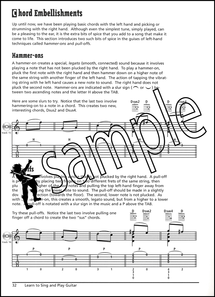 Learn to Sing and Play Guitar Book/CD | Hamcor