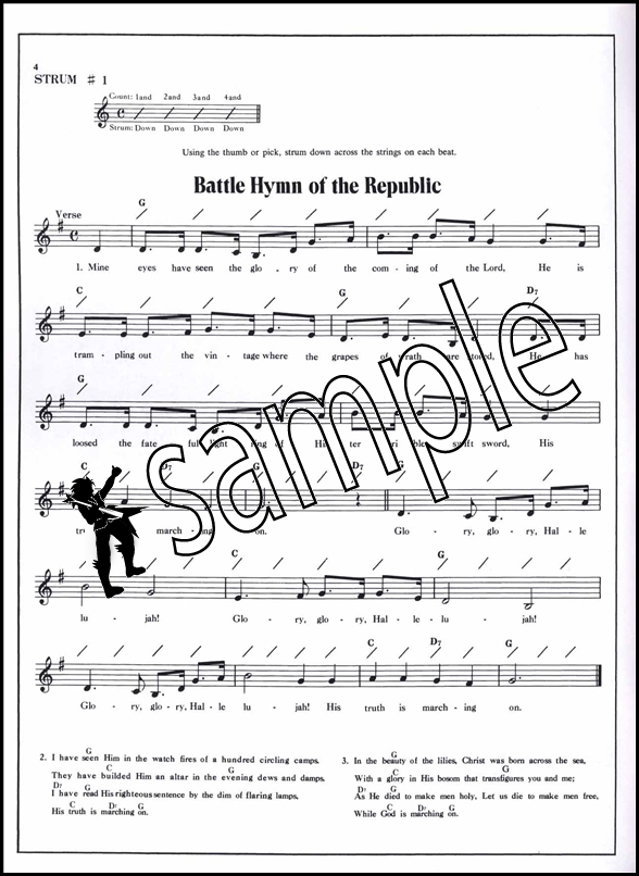Fun With Strums Baritone Ukulele Chord Melody Songbook