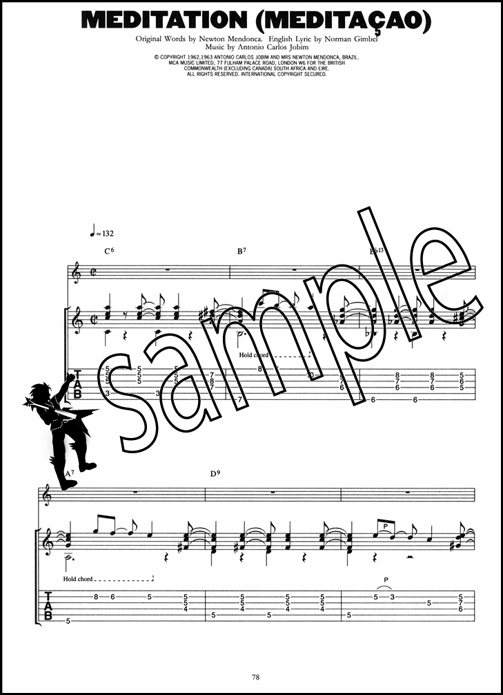 Jazz for Acoustic Guitar 22 Standards TAB Music Book Girl from ...