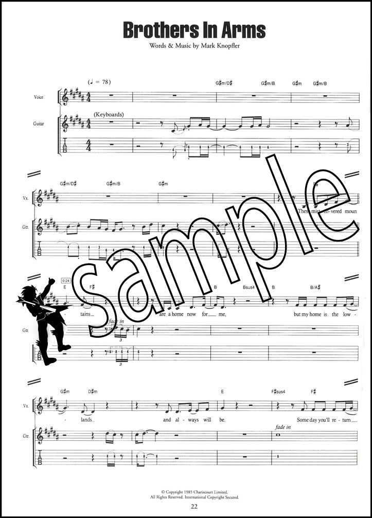 Rock Anthems Guitar TAB Music Book All-Time Big Rock Hits ZZ Top ...