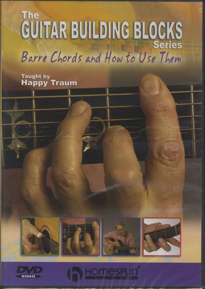 Guitar Building Blocks Barre Chords DVD | Hamcor