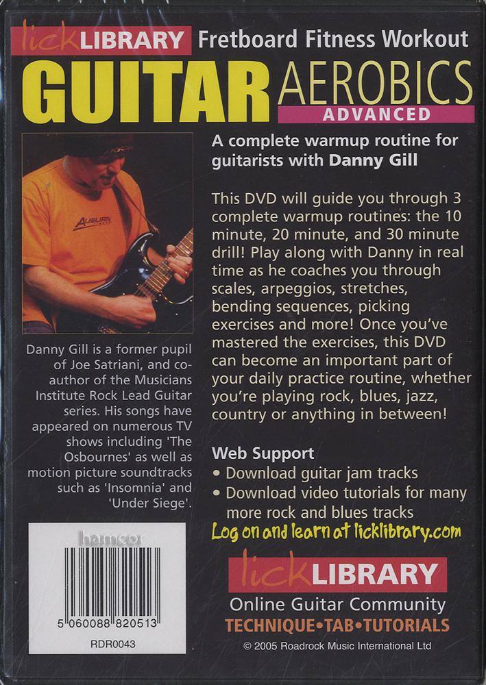 Lick library guitar aerobics right!