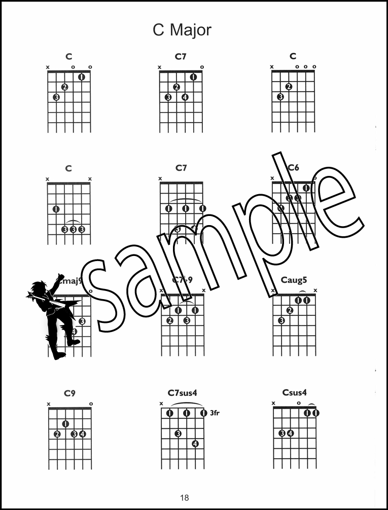 Guitar Chordfinder Chord Book With Dvd Learn How To Play Chords Ebay