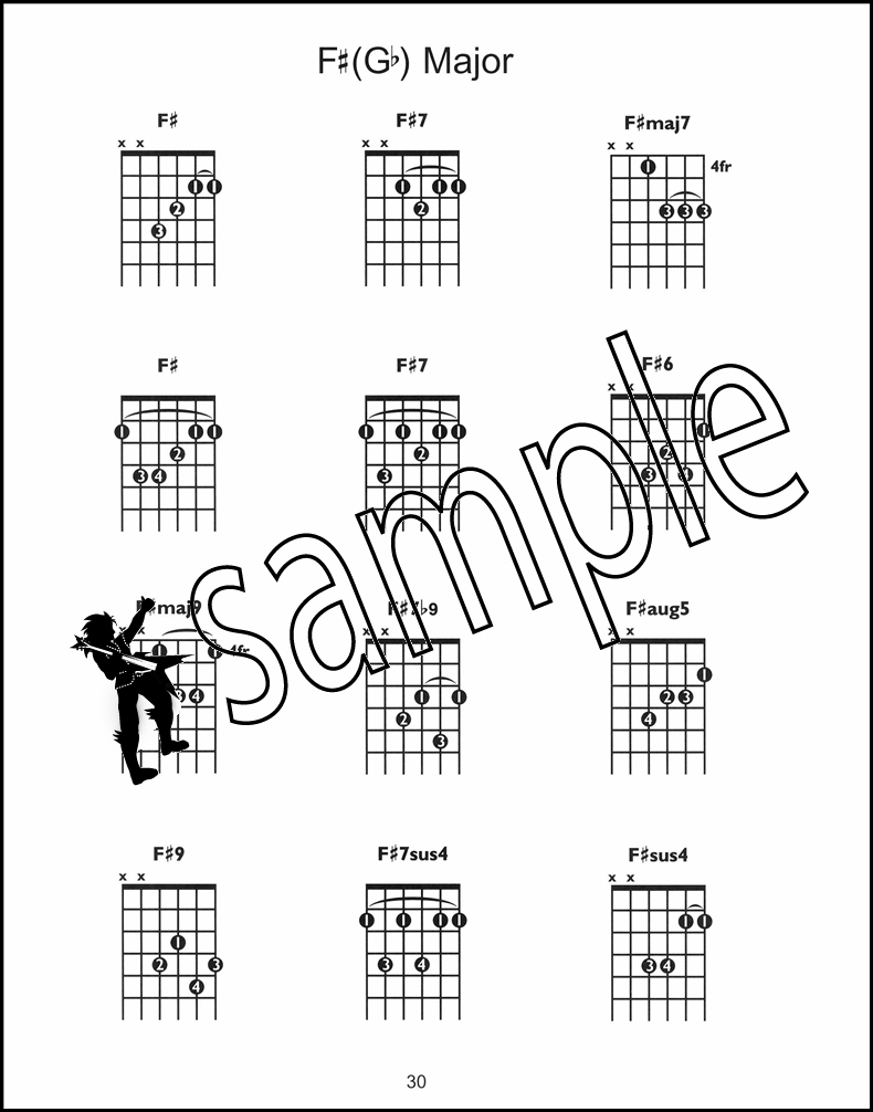 Guitar Chordfinder Chord Bookdvd Hamcor