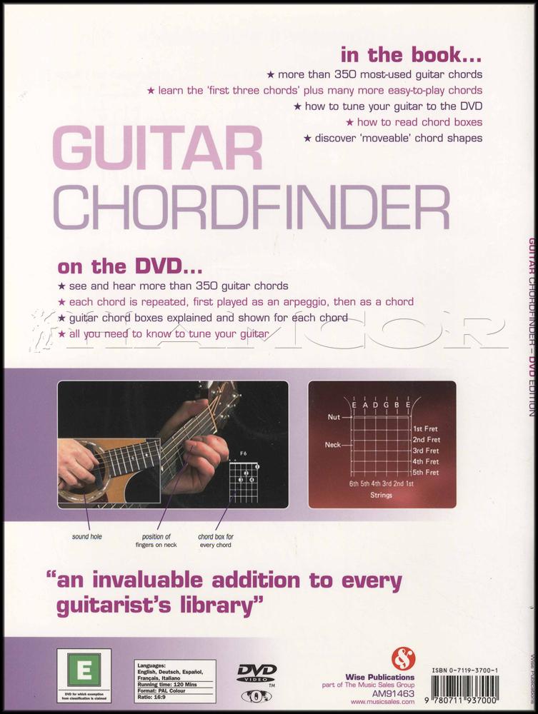 Guitar Chordfinder Chord Book/DVD | Hamcor