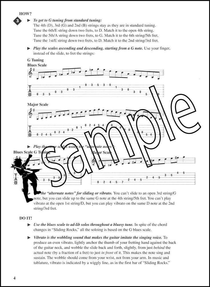 Fretboard Roadmaps Slide Guitar Bookaudio Hamcor