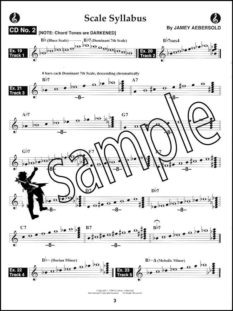 David Liebman Solos from The Scale Syllabus Sheet Music Book with ...