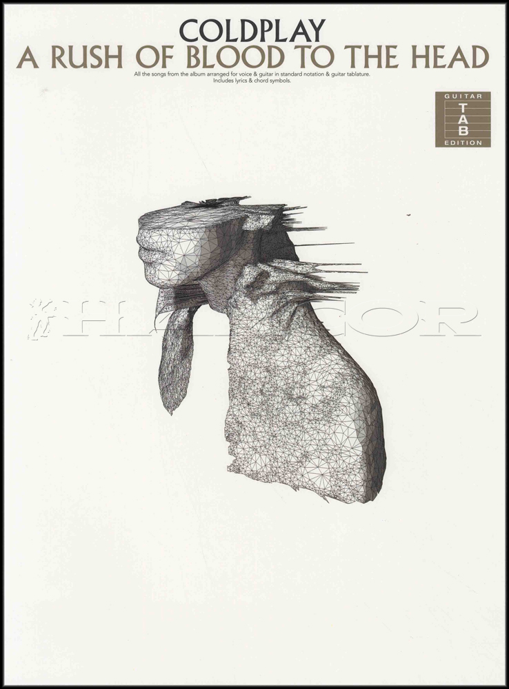 Coldplay A Rush Of Blood To The Head Guitar Tab Music Book The