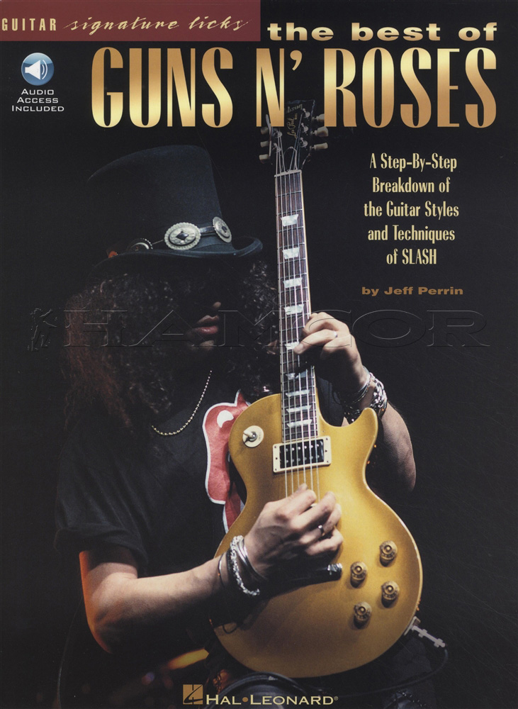 The Best Of Guns N Roses Guitar Signature Licks Bookaudio Hamcor