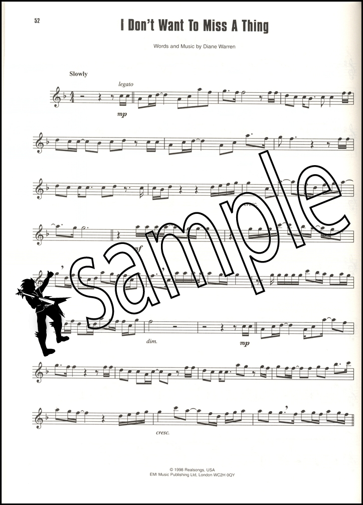 Big Pop Instrumental Solos for Alto Saxophone Sheet Music Book | eBay