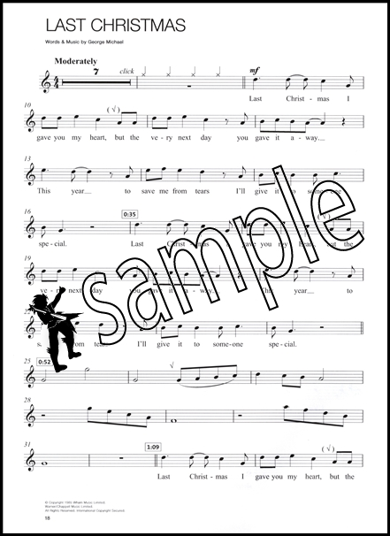 Christmas Hits Easy Playalong For Recorder Sheet Music Bookcd