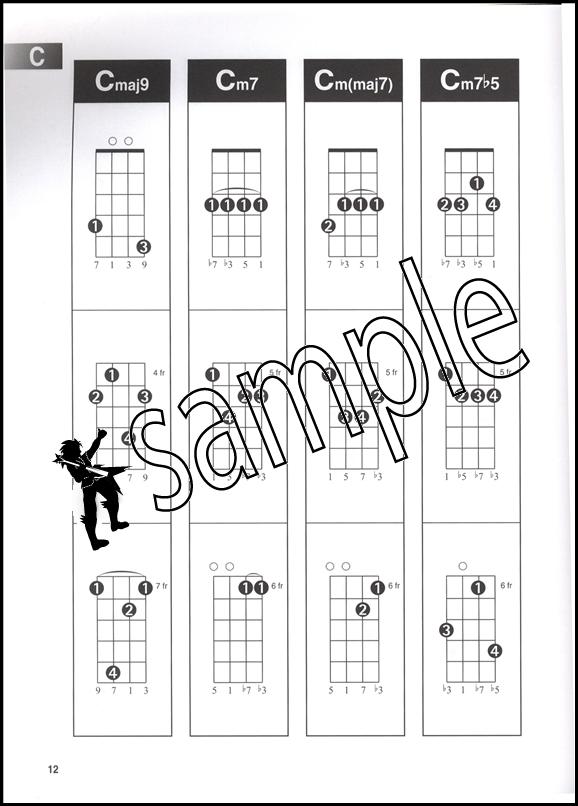 Ukulele Chord Finder Full Size Uke Chord Book 73999958034 Ebay