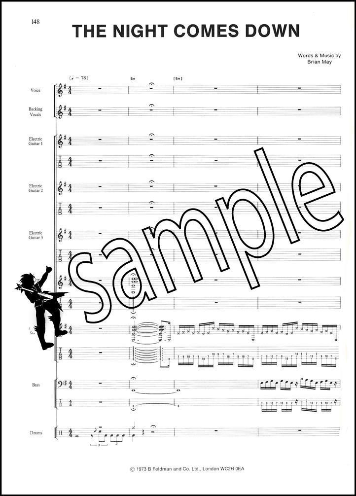 queen guitar tab book pdf