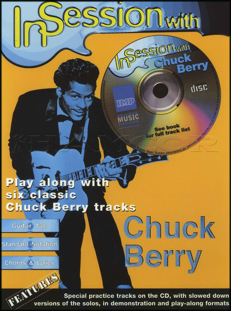 In Session With Chuck Berry Guitar Tab Music Book With Cd Johnny B