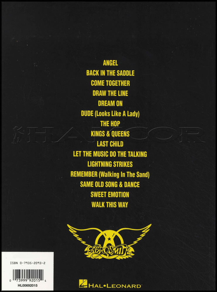 Aerosmith Greatest Hits Guitar | Hamcor
