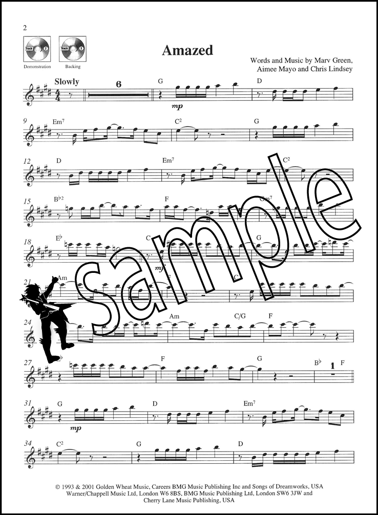 Take The Lead Alto Saxophone Ballads Sax Sheet Music Book & Play ...