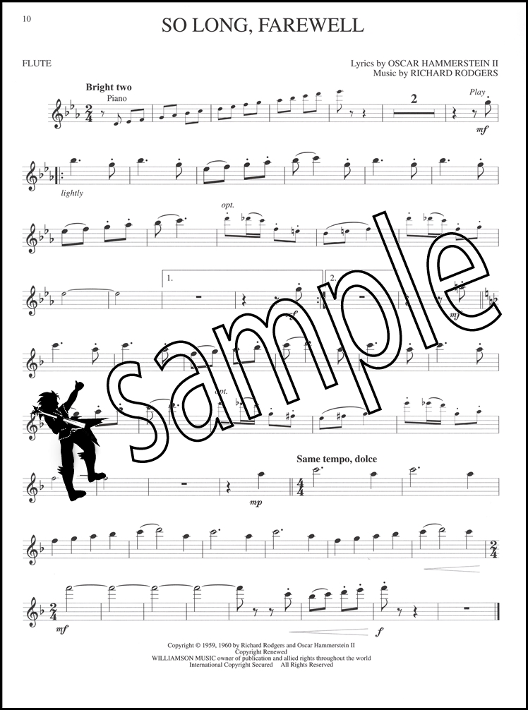 Sentinel The Sound Of Music For Flute Sheet Book With Audio Rodgers And Hammerstein: Edelweiss Sheet Music Flute At Alzheimers-prions.com