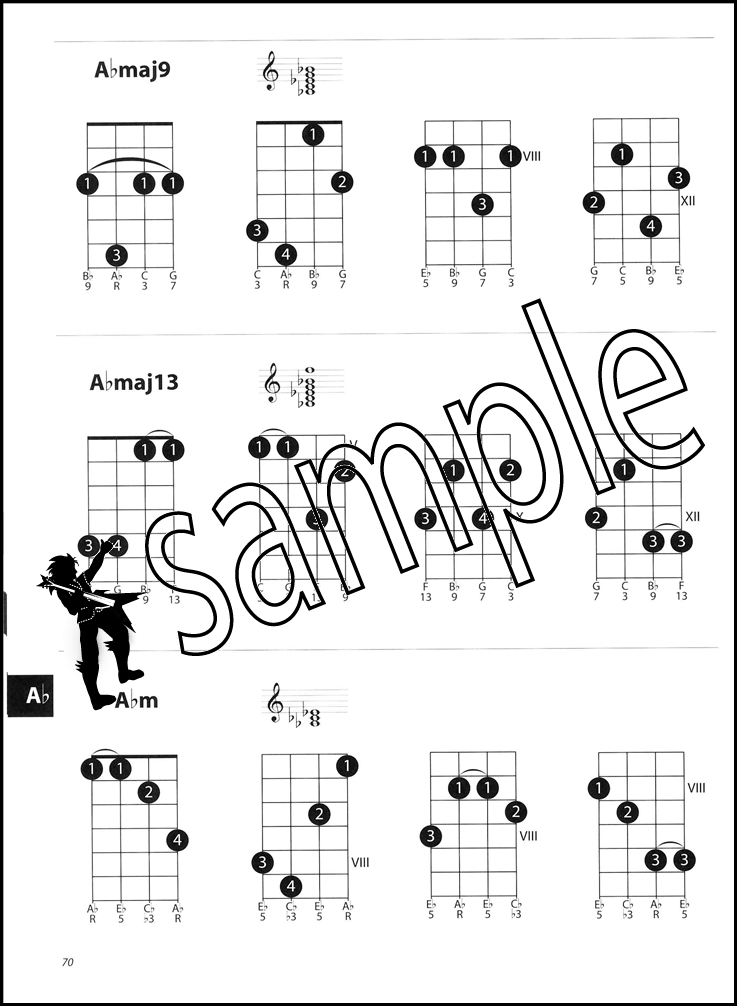 Dorable Mandolin Chord Book Illustration Beginner Guitar Piano