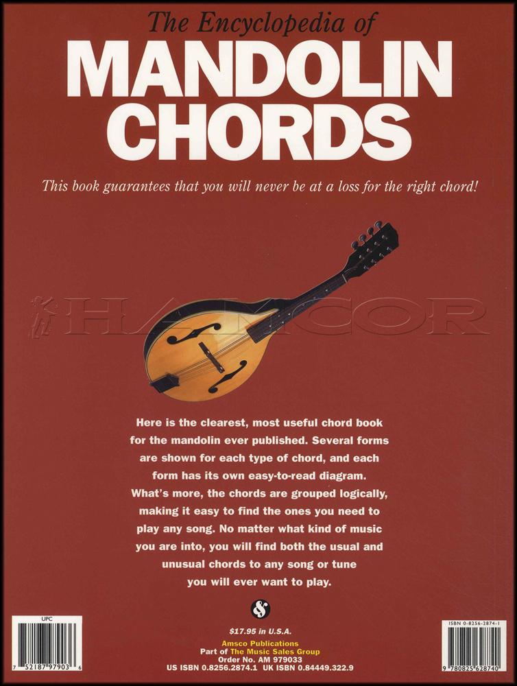 The Encyclopedia Of Mandolin Chords Hamcor