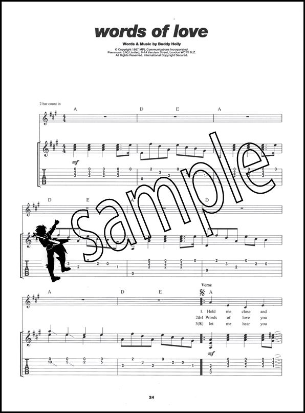 Play Guitar With Buddy Holly Book/CD | Hamcor