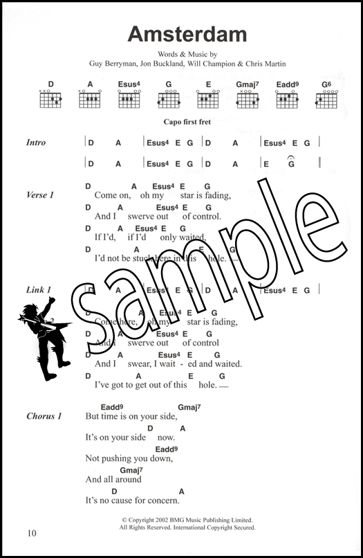 Coldplay Complete Chord Songbook | Hamcor