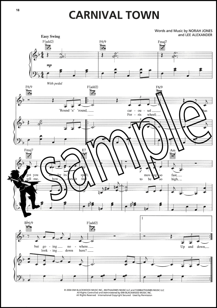 All Music Chords don t know why norah jones sheet music : Norah Jones Feels Like Home Piano Vocal Guitar Sheet Music Book ...