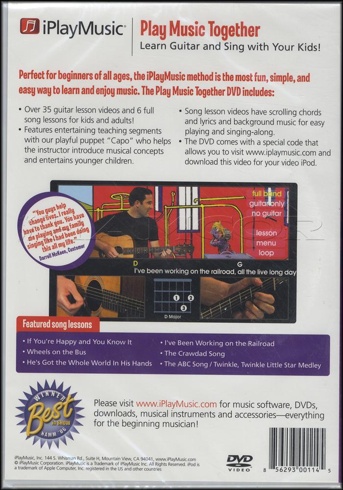Iplaymusic Play Music Together Dvd Hamcor