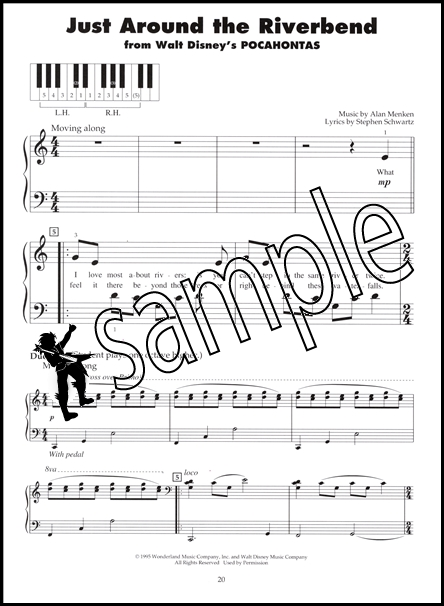 just around the riverbend sheet music