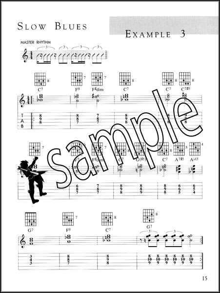Robben Ford Rhythm Blues for Guitar TAB & Chord Music Book/CD Funky ...