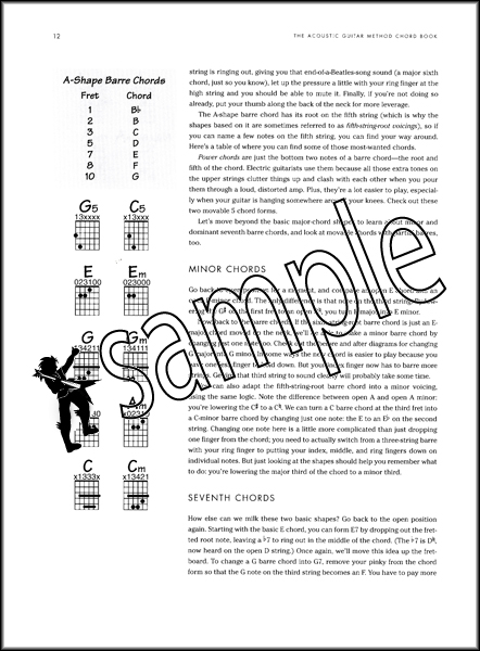 The Acoustic Guitar Method Chord Book | Hamcor