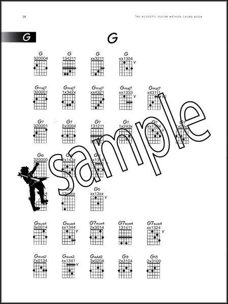 The Acoustic Guitar Method Chord Book Hamcor