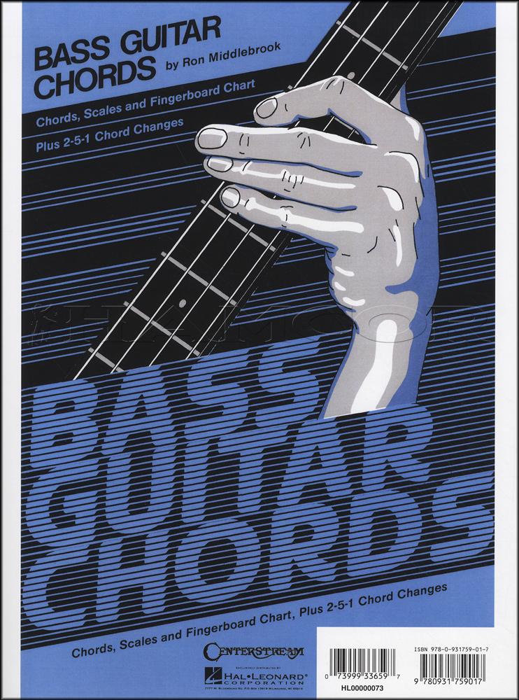 Bass Guitar Chords Chart Chord Scales Fingerboard Chart Plus 2 5