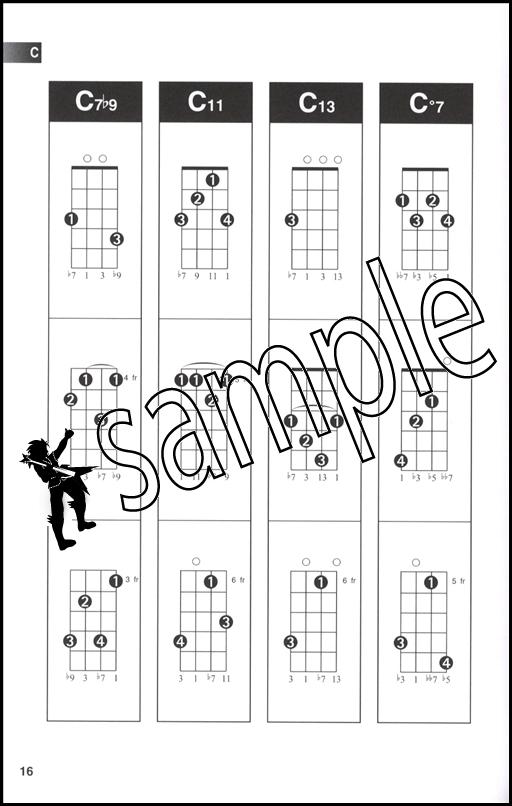 Hal Leonard Ukulele Chord Finder A5 Edition | Hamcor