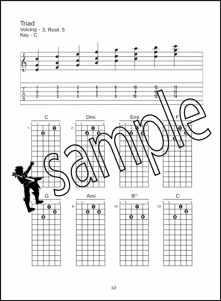 The Chord Scale Guide Guitar TAB Music Chords Book by Greg Cooper ...