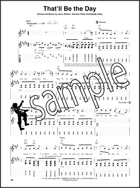 Rockabilly Guitar Play-Along TAB Book/CD Stray Cats Gene Vincent ...