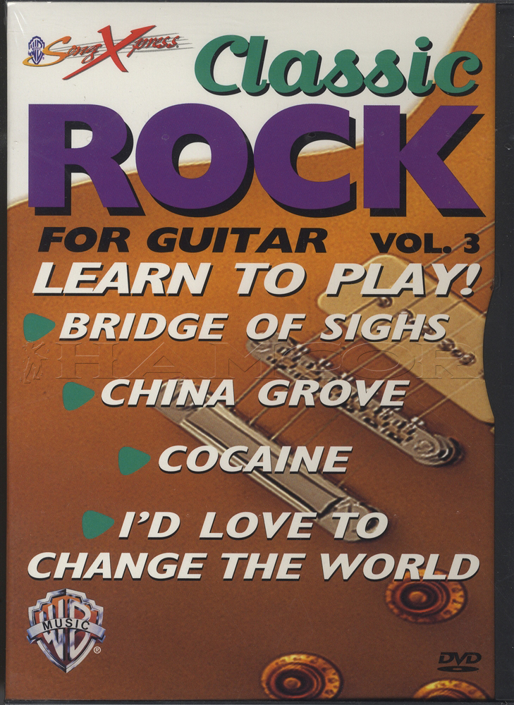 Classic Rock For Guitar Volume 3 Dvd Hamcor