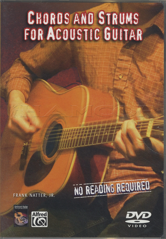 Chords and Strums for Acoustic Guitar DVD   Hamcor