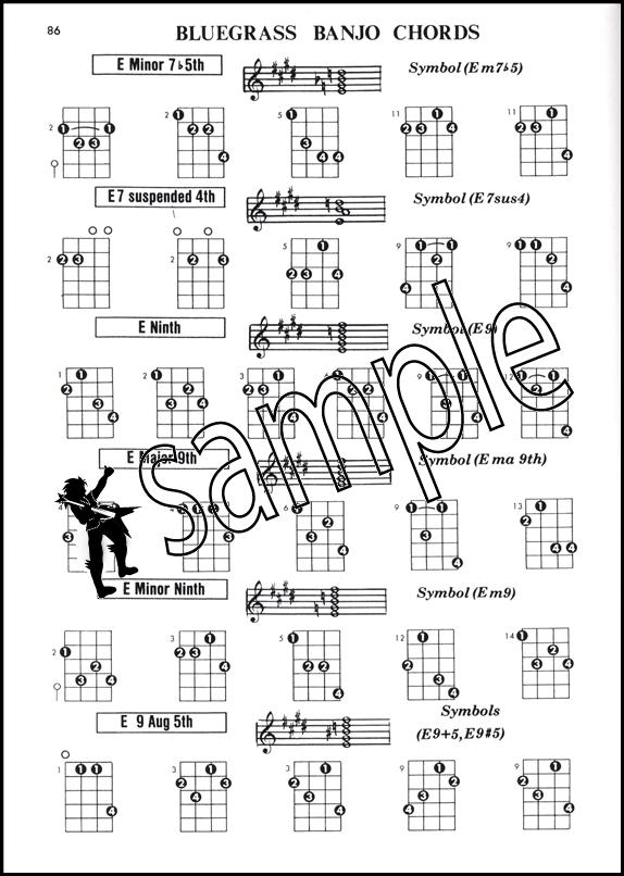 Banjo Chord Encyclopedia 5 String Plectrum Cg Tunings Hamcor