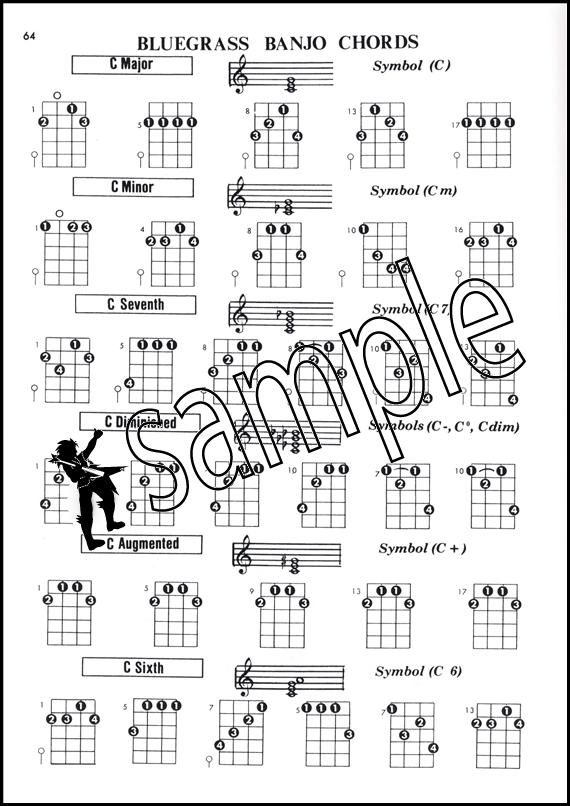 Banjo banjo chords g tuning : Banjo Chord Encyclopedia 5-String & Plectrum C&G Tunings | Hamcor
