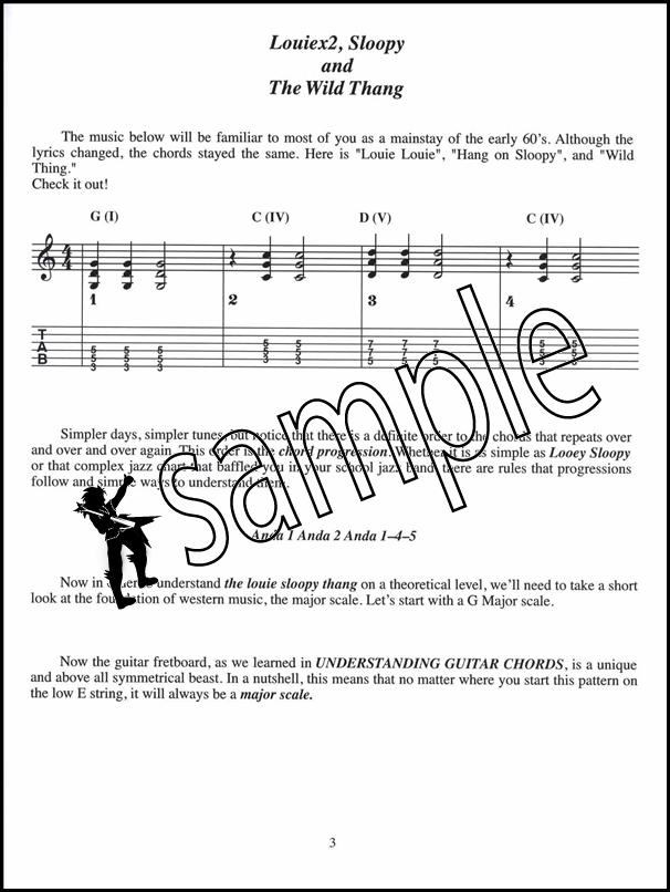 Understanding Guitar Chord Progressions TAB Music Book by Bob ...