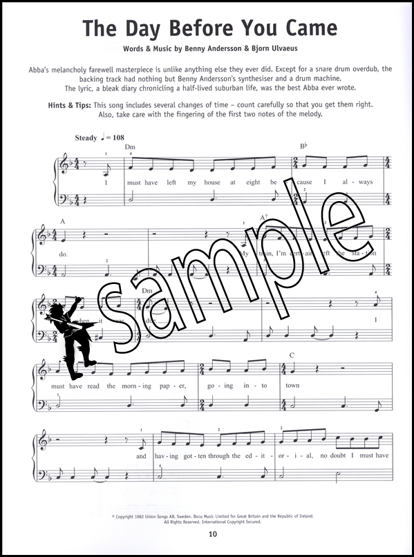 Piano immortals piano sheet music : Really Easy Piano ABBA Sheet Music Book Songbook 25 Great Pop Hits ...