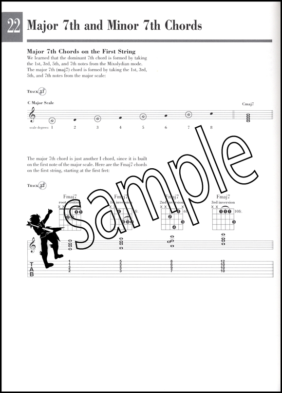 Beginning Solo Guitar TAB Music Book/CD Master the Chord Melody Style