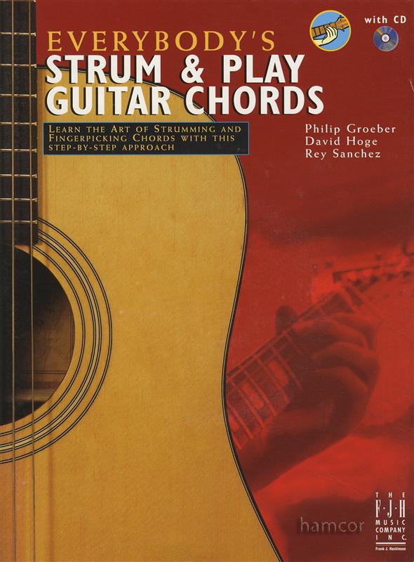 Everybody\'s Strum & Play Guitar Chords Book/CD   Hamcor