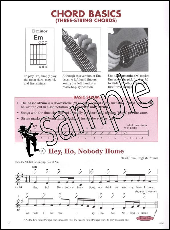 Everybody\'s Strum & Play Guitar Chords Book/CD | Hamcor