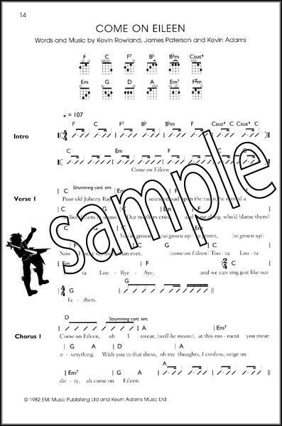 The Ukulele Playlist Blue Book 33 Rock Pop Classics Uke Chord