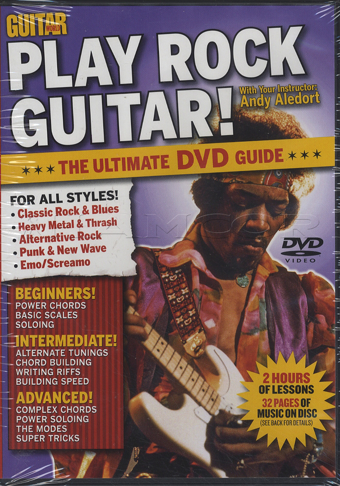 Guitar World Play Rock Guitar Dvd Hamcor
