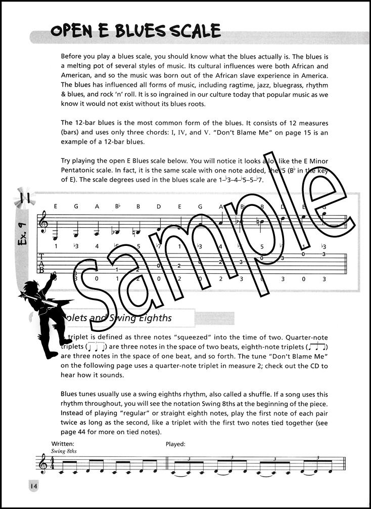 Easy Soloing For Acoustic Guitar Tab Music Book With Cd Fun Lessons