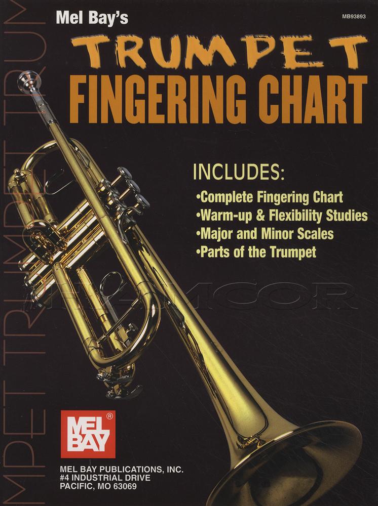 Trumpet Fingering Chart  Hamcor