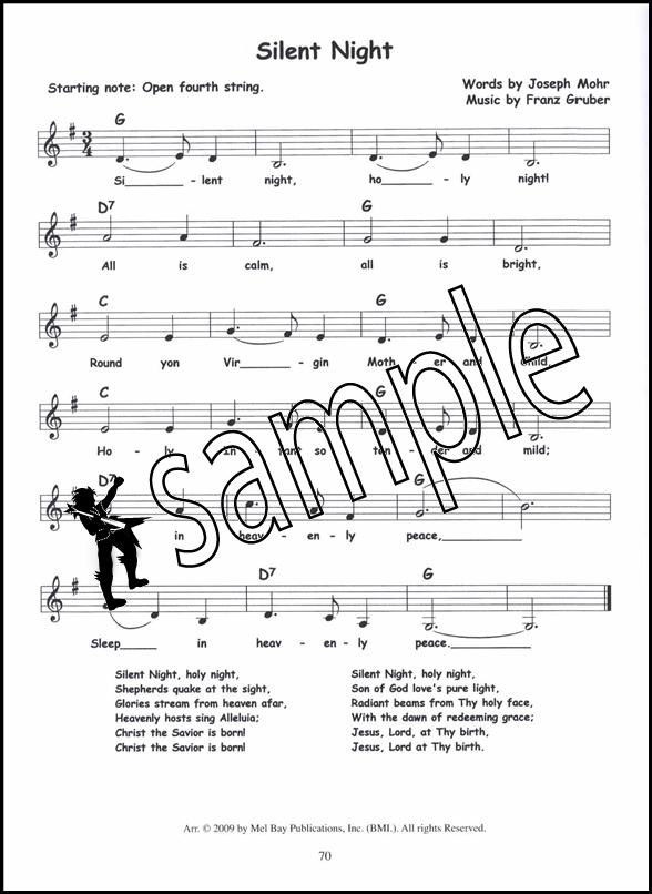 50 Three Chord Christmas Songs for Guitar Banjo Ukulele Chord ...