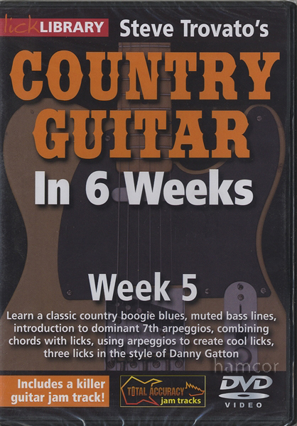 Steve Trovato\'s Country Guitar in 6 Weeks DVD 5   Hamcor